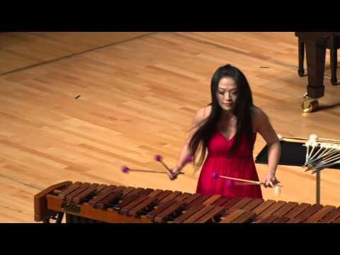 "Marimba Concerto No.3""Notre Dame de Paris"" for Six Mallets Marimba Soloist & Wind Orchestra"