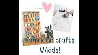 RAMADAN CRAFTS For Kids! | DIY HOME DECOR For RAMADAN