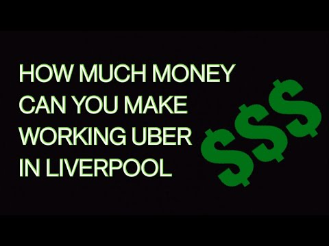 Working Uber In Liverpool - How Much You Can Earn On Sunday Morning Shift.