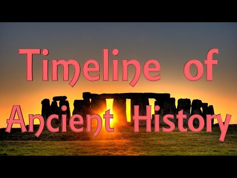 Timeline of Ancient History