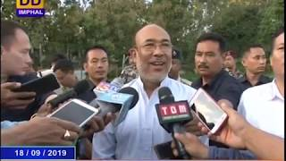 DDNEWS IMPHAL, MANIPURI PAO, 18TH SEPTEMBER 2019