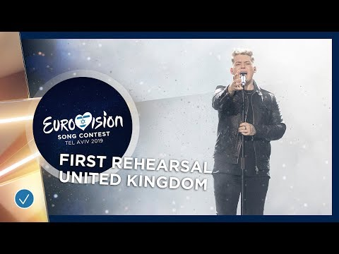 United Kingdom 🇬🇧 - Michael Rice - Bigger Than Us - First Rehearsal - Eurovision 2019