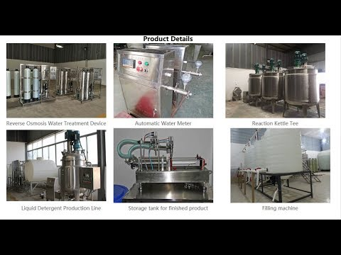 liquid-detergent-production-machinery