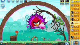 Angry Birds Friends Octournament, week 318/C, level 7