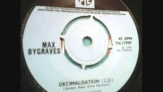 Max Bygraves DECIMALISATION