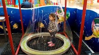 Giant Bubbles for Kids! Dev Köpük Baloncuklar | Ayşe Ebrar Playing With Bubble Toys