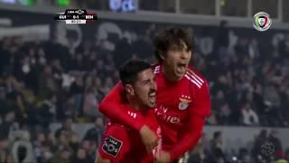 Goal   Golo Seferovic: Vitória SC 0-(1) Benfica (Liga 18/19 #18)
