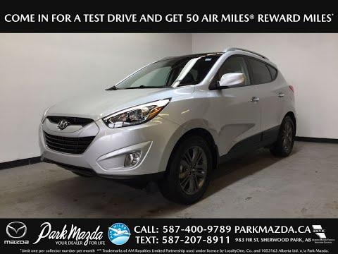 SILVER 2015 Hyundai Tucson  Review Sherwood Park Alberta - Park Mazda