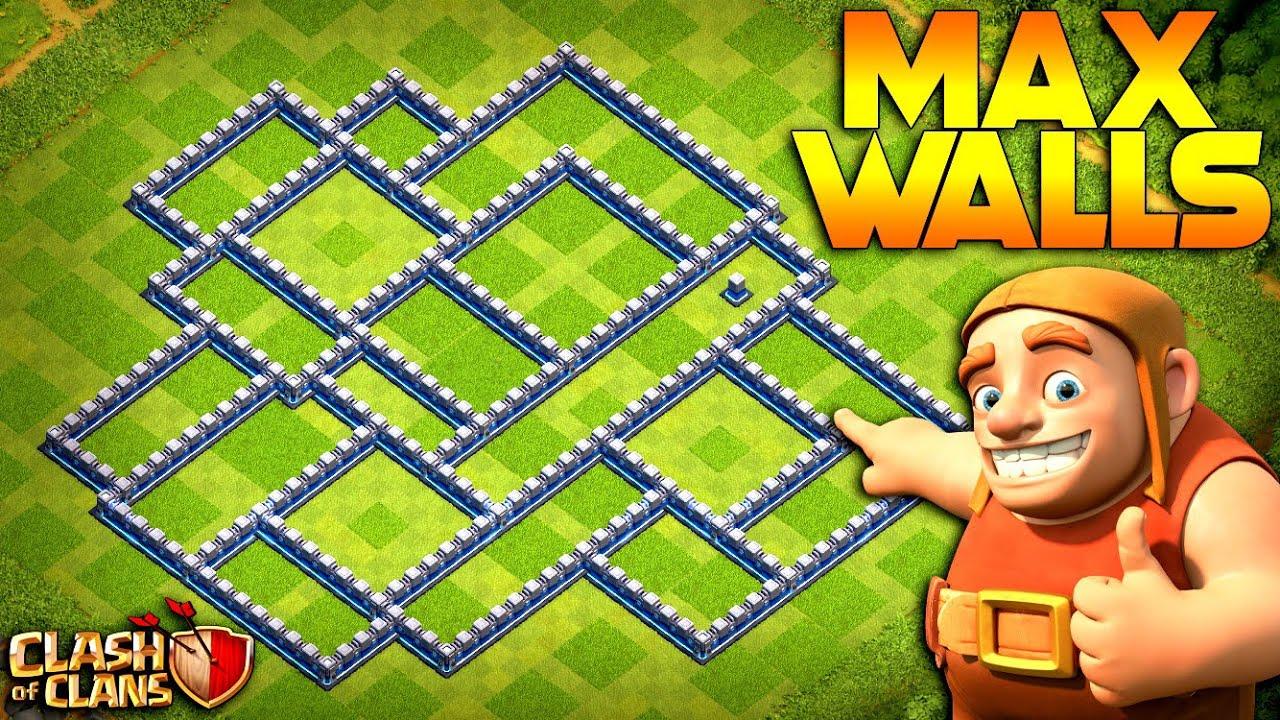 MAX WALLS!  TH12 Farm to Max | Clash of Clans