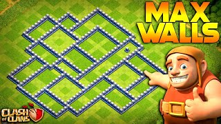 MAX WALLS!  TH12 Farm to Max | Clash of Clans