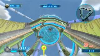 Sonic Riders Zero Gravity (Wii): All Attacks Compilation