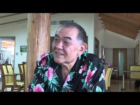 映画「ばななとグローブとジンベエザメ」インタビュー&メイキング映像 渡辺哲編です。