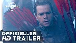 The Great Wall - Trailer german/deutsch HD