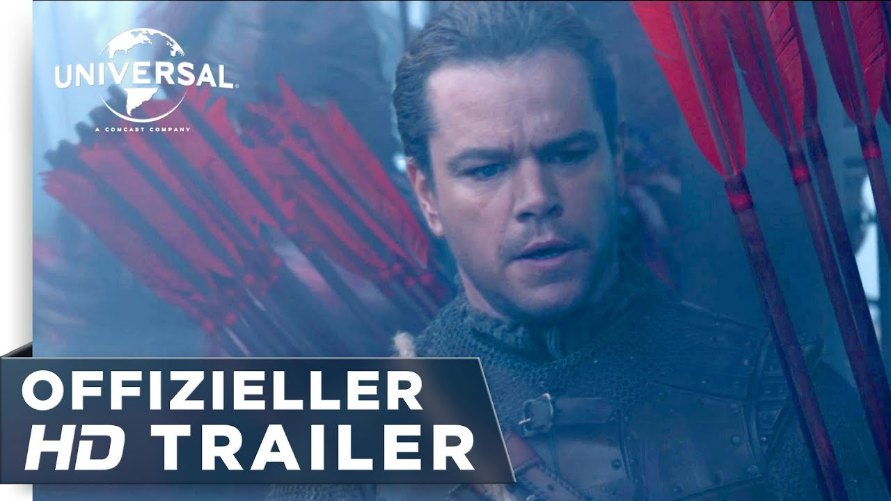 The Great Wall Trailer Deutsch
