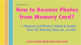 [SD Card Photo Recovery] How to Recover Photos from Memory Card (SD/XD/CF/MMC)?