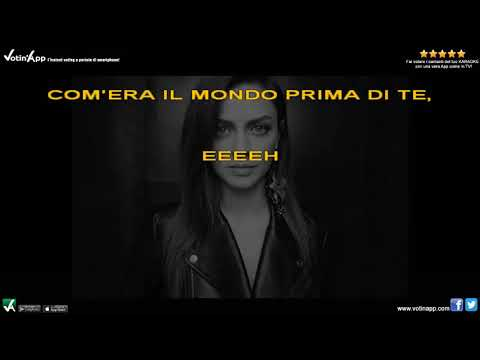 Download Lagu Annalisa - Il mondo prima di te Karaoke HQ con cori  Mp3