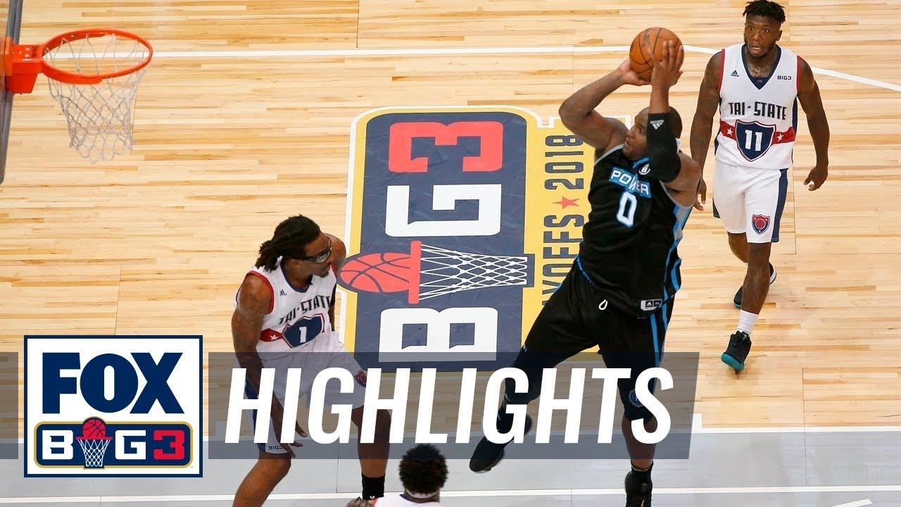 Power vs. Tri-State | BIG3 HIGHLIGHTS