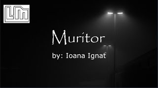 Ioana Ignat - Muritor Versuri Lyrics Video