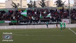 انصار نجم البرواقية في مباراة حاسي مسعود
