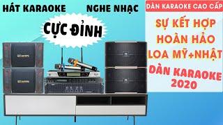 Dàn Karaoke gia đình với Loa JBL Pasion 12 + Loa BIK 968 - Bass 30 - Hát karaoke, Nghe Nhạc Cực Hay