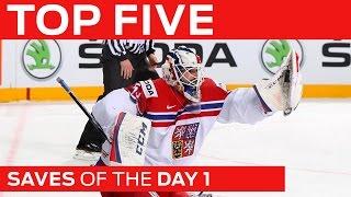 Top 5 Saves | Day 1 | #IIHFWorlds 2015