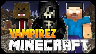 Minecraft: VAMPIRE APOCALYPSE w/JeromeASF, Vikk & Taz! (Mini-Game)
