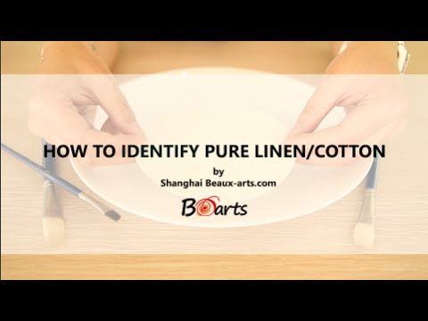 How to Identity Pure Linen or Cotton