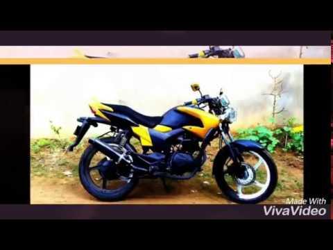 Hunk modified bike in bd