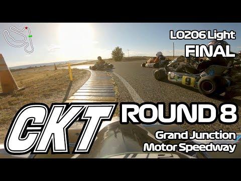 Colorado Karting Tour 2019 - Round 8, Grand Junction Motor Speedway: LO206 Light Final