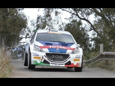 Rally Targa Florio 2017: Peugeot 208 T16 e Paolo Andreucci - Shakedown