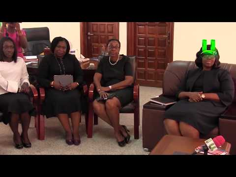 Ghana Energy Award Team Calls On Attorney General, Gloria Akuffo