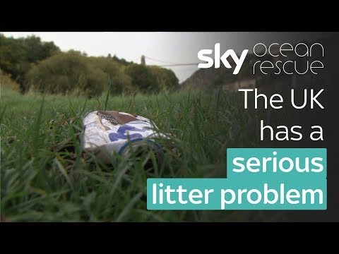 The UK has a littering problem