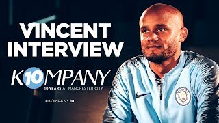 HERE\'S TO YOU VINCENT KOMPANY | 10 YEARS AT CITY | INTERVIEW