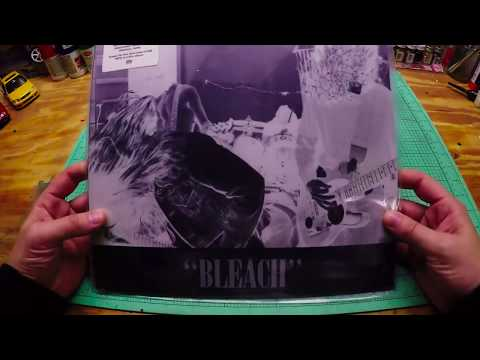 Nirvana Bleach Full Album vinyl unboxing and review
