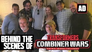 Ad: BatInTheSun's Behind the Scenes - Transformers: Combiner Wars