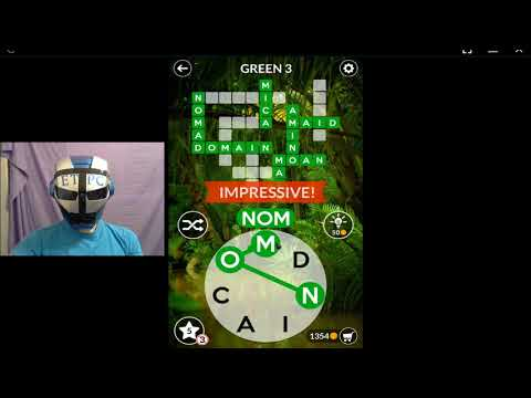 WORDSCAPES GREEN 3 ANSWERS