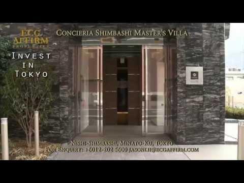 Concieria Shimbashi Master's Villa @ Minato-ku, Tokyo