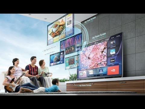 Panasonic VIERA Life+Screen Tutorial - My Home Screen