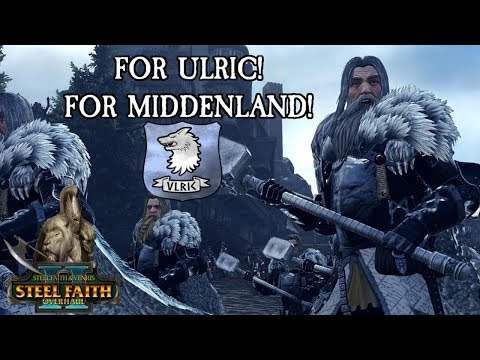 The Cult of Ulric Siege of Middenheim - NEW SFO Content - Total War Warhammer 2 Gameplay