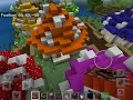 The tour of the Smurf village  in Minecraft and then destroying it