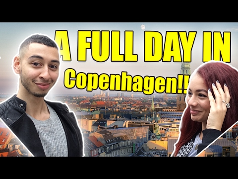 COPENHAGEN VLOG!! Travel Denmark - Free Museums & Lot's of Street FOOD