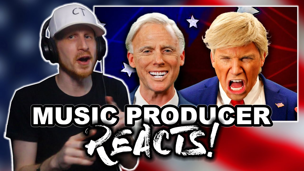 Music Producer Reacts to Donald Trump vs Joe Biden (Epic Rap Battles Of History)