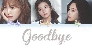 RED VELVET (레드벨벳) - GOODBYE (안녕) Lyrics (Color Coded/ENG/ROM/HAN)