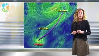 Uragano Ophelia verso l'Europa