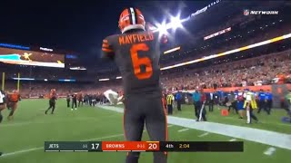 Baker Mayfield DEBUT COMEBACK! Life Brought Into Players And Fans! (HD/CC)