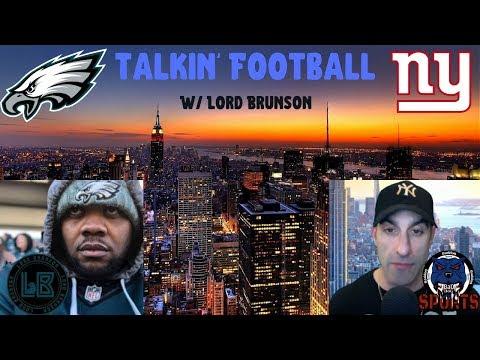 New York Giants, Philadelphia Eagles Live Hangout W/ Lord Brunson & Baddog! NFC East Talk, + Q & A