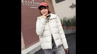 Женская короткая куртка с капюшоном и принтом уличная harajuku в корейском стиле 2019 с Aliexpress
