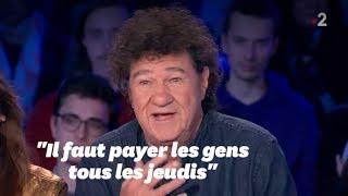 Face aux gilets jaunes, Robert Charlebois a une solution pour relancer l'économie française