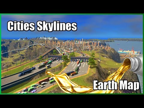 DID SOMEONE SAY PETROLEUM?  | Cities Skylines [Industries DLC] | Earth Map #14