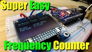 Super simple Arduino Frequency Counter